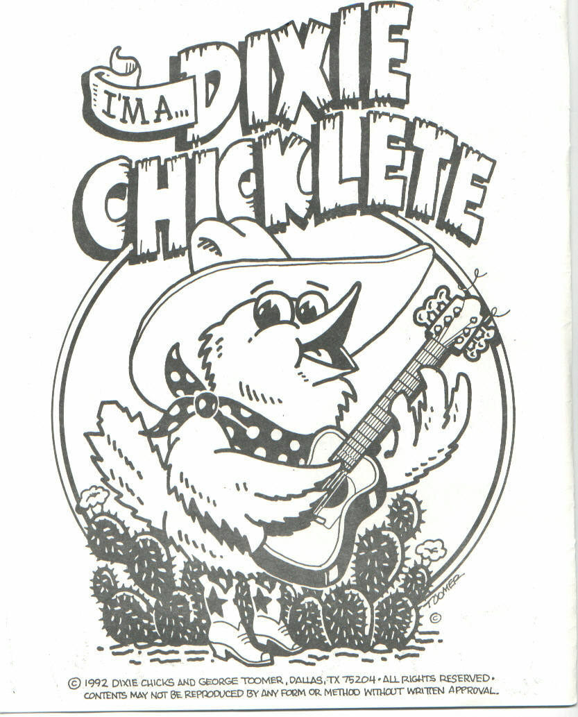 dixie coloring book